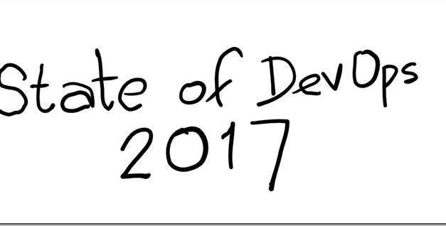 Some inferences from the State of DevOps 2017 report