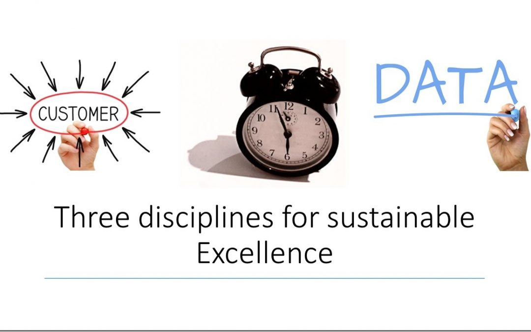 Three disciplines for sustainable Excellence